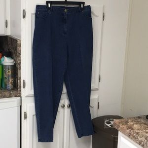 Ruby Rd. 16 W jeans NWT color INDIGO retail $48
